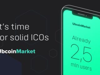 Ubcoin Starts Main Token Sale Event