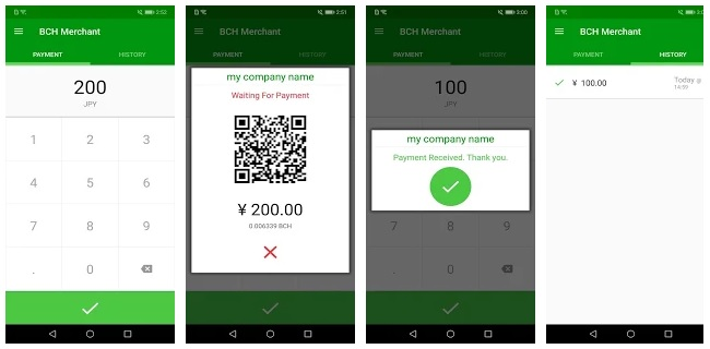 BCH Merchant App Allows Businesses to Accept Crypto Payments in Store