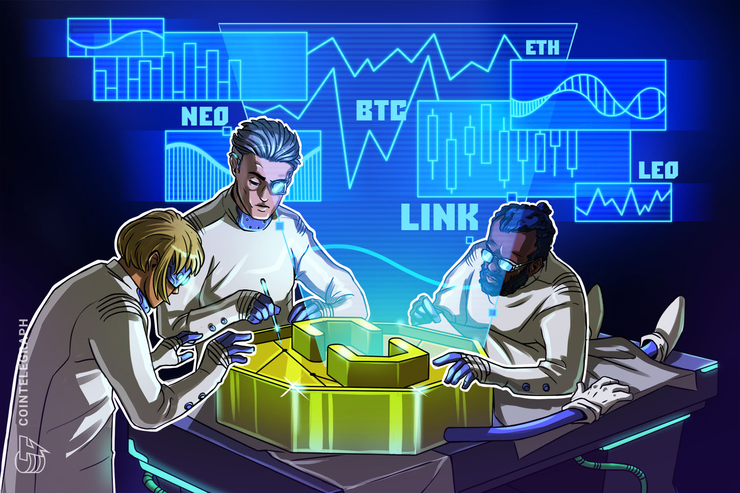 Top 5 Crypto Performers: LINK, BTC, NEO, LEO, ETH
